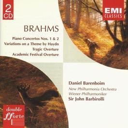 Brahms: Piano Concertos/Overtures 1998 Daniel Barenboim