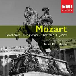 Mozart: Symphonies 32, 35 'Haffner', 36 'Linz', 40 & 41 'Jupiter' 2006 Daniel Barenboim