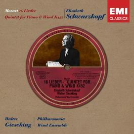 Historical Series: Mozart Lieder 2006 Elisabeth Schwarzkopf