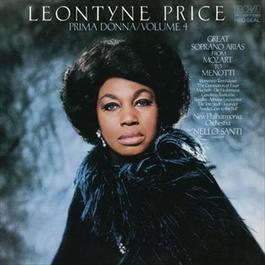 Leontyne Price - Prima Donna Vol. 4: Great Soprano Arias from Mozart to Menotti 2012 Leontyne Price