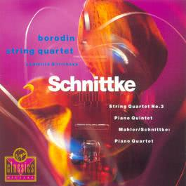 String Quartet No.3/Piano Quartet/Piano Quintet 2003 Borodin Quartet