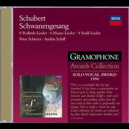 Schubert: Schwanengesang; 6 Heinrich Heine Lieder etc. 2008 Peter Schreier