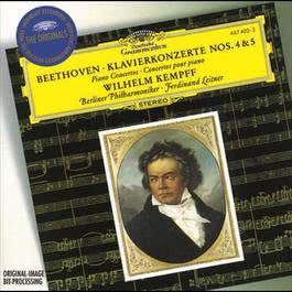 Beethoven: Piano Concertos Nos.4 & 5 1995 Wilhelm Kempff; Ferdinand Leitner; Berliner Philharmoniker