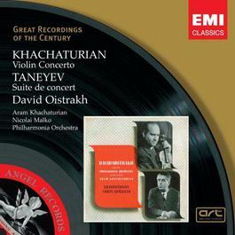 Khachaturian: Violin Concerto, Taneyev: Suite de concert 2006 David Oistrakh