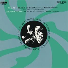 Mozart: Quintet, K. 515, in C, Mendelssohn-Bartholdy: Trio No. 2, Op. 66, in C Minor 2011 Jascha Heifetz