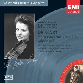 Mozart: Violin Concertos Nos. 1, 2 & 4 - Adagio in E 2004 Anne Sophie Mutter