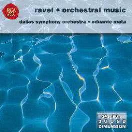 Dimension Vol. 15  Ravel - Orchestral Works 1970 Eduardo Mata