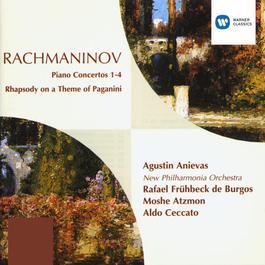 Rachmaninov Piano Concertos, etc 1995 Agustin Anievas