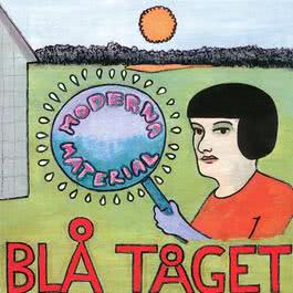 Moderna Material 1999 Blå Tåget
