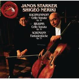 Rachmaninoff/Brahms/Schumann: Cello & Piano Works 2010 Janos Starker