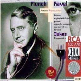 Munch Conducts Ravel & Dukas 1970 Charles Munch