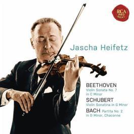 Beethoven: Violin Sonata No. 7 in C Minor; Schubert: Violin Sonatina in G Minor; Bach: Partita No. 2 in D Minor, Chaconne 2011 Jascha Heifetz