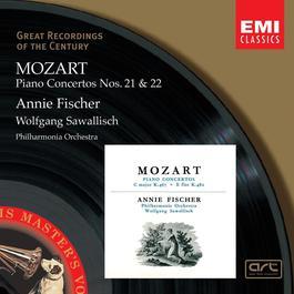 Mozart: Piano Concertos Nos. 21 & 22 2004 Annie Fischer
