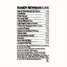 Last Night I Had A Dream (Live Version) 1995 Randy Newman