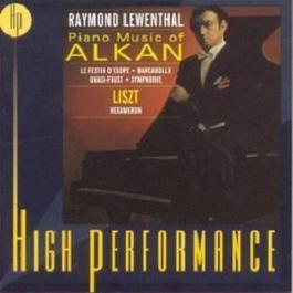 Piano Music Of Alkan Liszt Hexameron 1970 Raymond Lewenthal