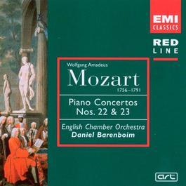 Mozart: Piano Concertos Nos 22 & 23 1998 English Chamber Orchestra