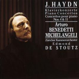 Haydn - Piano Concertos Nos 4 and 11 2005 Arturo Benedetti Michelangeli