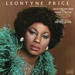 Leontyne Price - Prima Donna Vol. 5: Great Soprano Arias from Handel to Britteni 2012 Leontyne Price