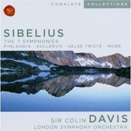 Sibelius: The 7 Symphonies; Finlandia; Kullervo; etc. 1970 Sir Colin Davis