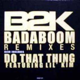 Badaboom Remixes 2004 B2K