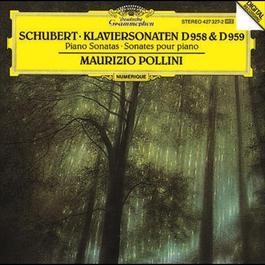 Schubert: Piano Sonatas D958 & D959 1989 Maurizio Pollini