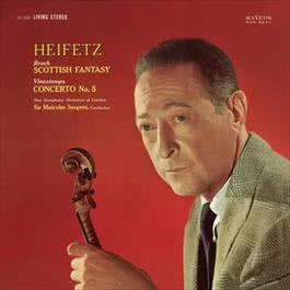 Vieuxtemps: Violin Concerto No. 5 in A Minor, Op. 37, Bruch: Scottish Fantasy, Op. 46 2011 Jascha Heifetz; The New Symphony Orchestra Of London; Sir Malcolm Sargent