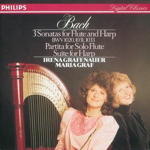 Maria Graf的專輯Bach, J.S.: Sonatas & Partitas for flute & harp