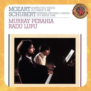 Murray Perahia的專輯Mozart:  Sonata in D Major for Two Pianos & Schubert:  Fantasia in F Minor for Piano, Four Hands, D. 940 (Op. 103)