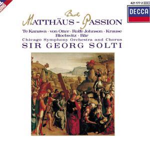 "收聽Chicago Symphony Chorus的J.S. Bach: St. Matthew Passion, BWV 244 - Part One - No.29 Choral: ""O Mensch, bewein dein Sünde groß""歌詞歌曲"
