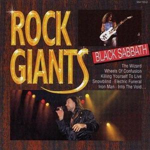 Black Sabbath的專輯Rock Giants