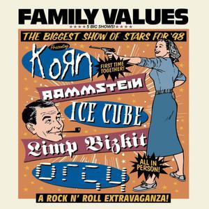 Various Artists的專輯Family Values Tour '98