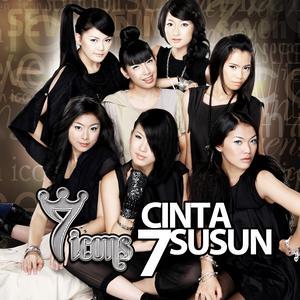 Cinta 7 Susun dari 7 Icons