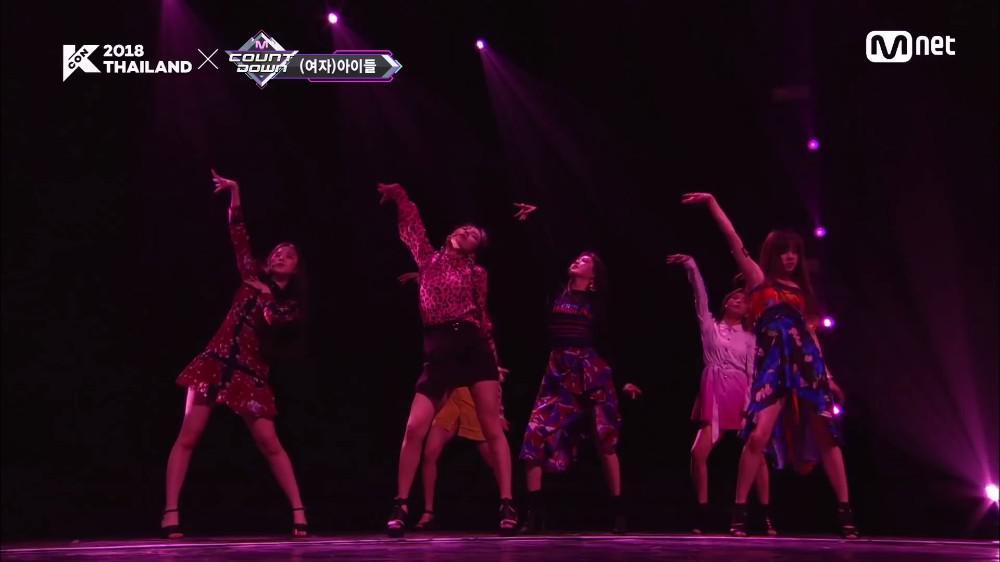[KCON 2018 THAILAND] (G)I-DLE - HANN 181011
