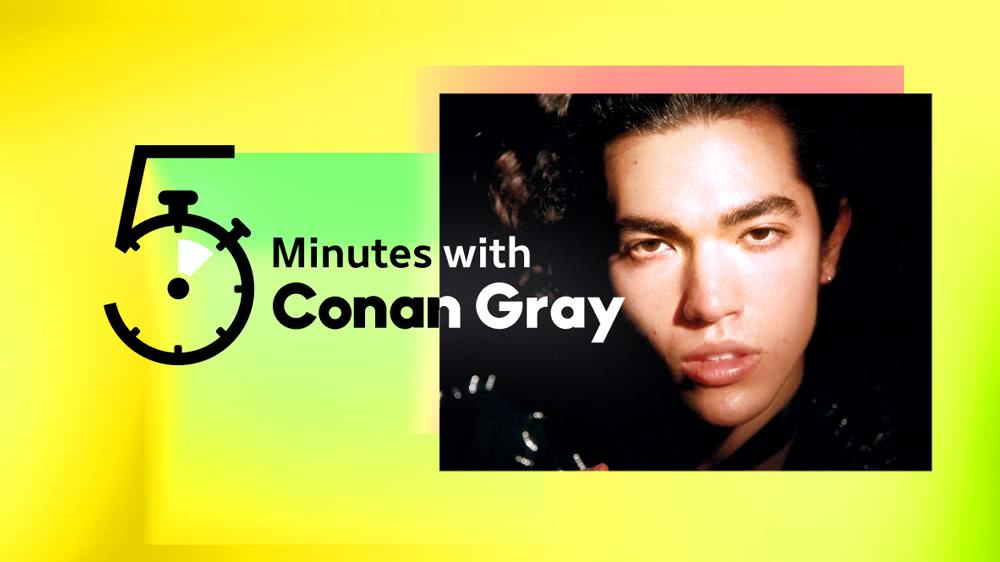 5 Minutes with Conan Gray