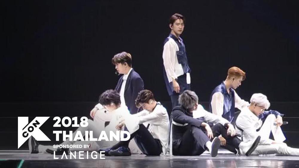 [KCON 2018 THAILAND] GOT7 - INTRO + Lullaby 181011