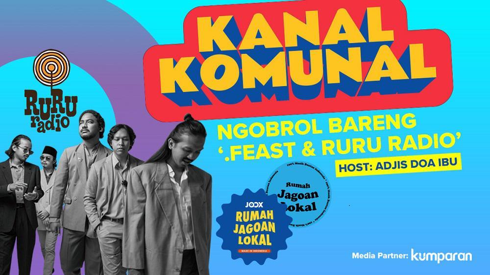 Kanal Komunal Eps. 2 - .Feast & Ruru Radio