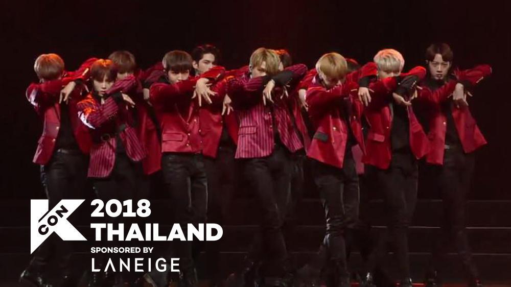 [KCON 2018 THAILAND] Wanna One - INTRO + Light 181011