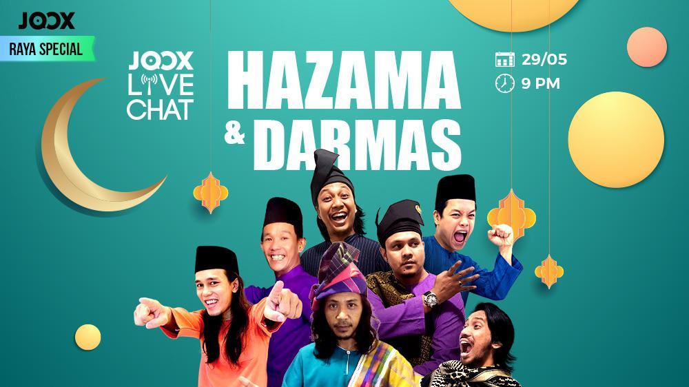 JOOX Live Chat - Hazama & Darmas
