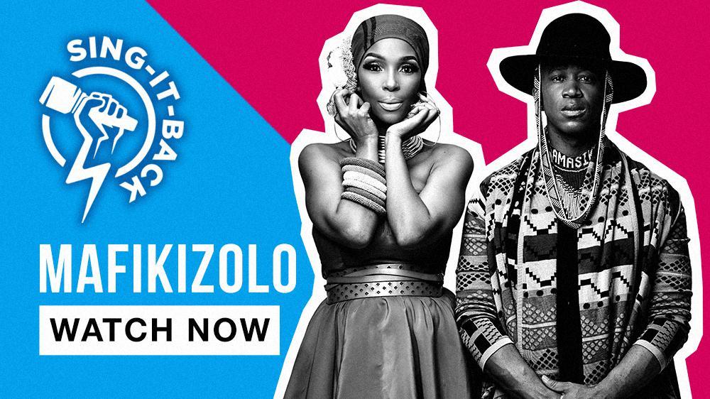 SingItBack with Mafikizolo