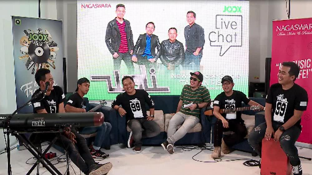 JOOX Live Chat with Wali