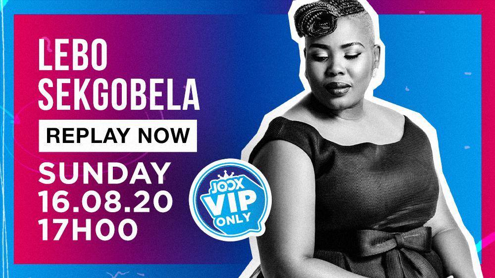 Big Live: Lebo Sekgobela Replay