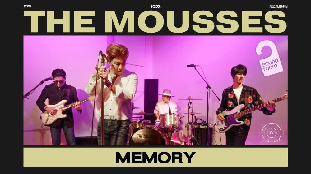 Memory - The Mousses [Live Session] | JOOX Sound Room