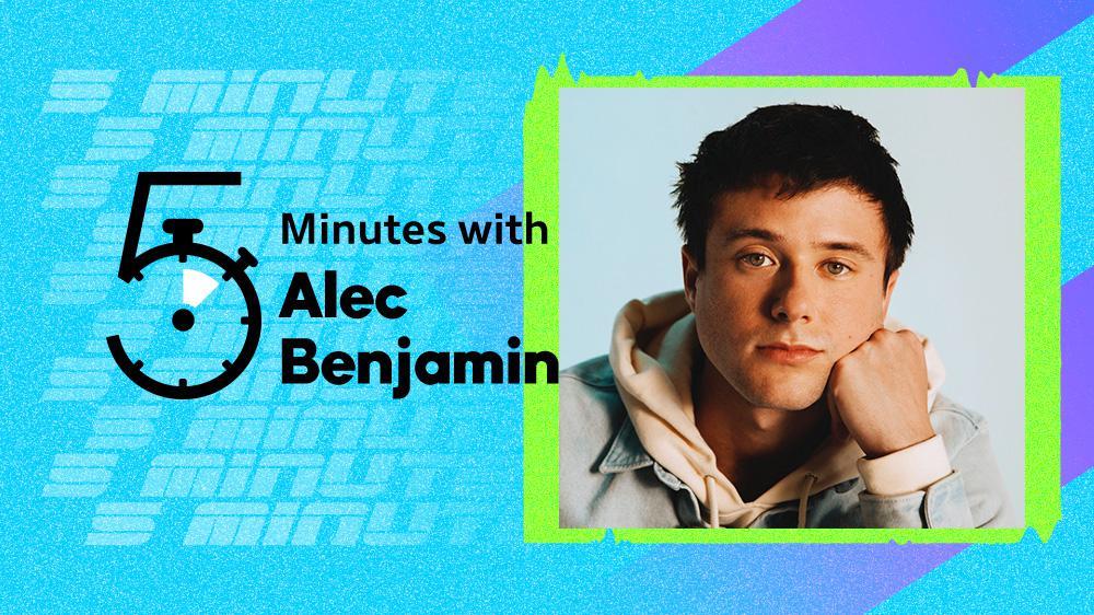 5 Minutes with Alec Benjamin