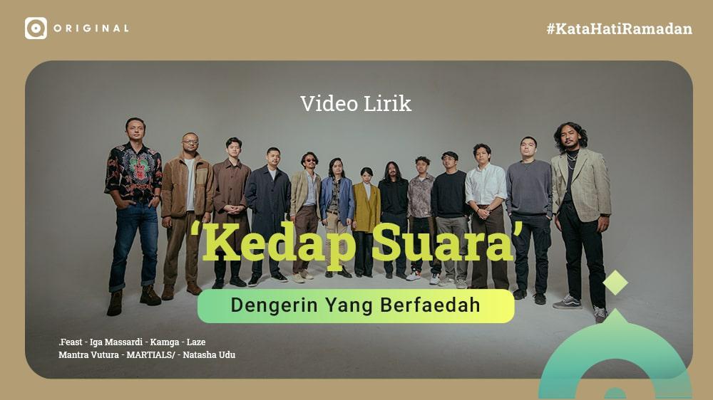 Kedap Suara (Official Video Lyrics)