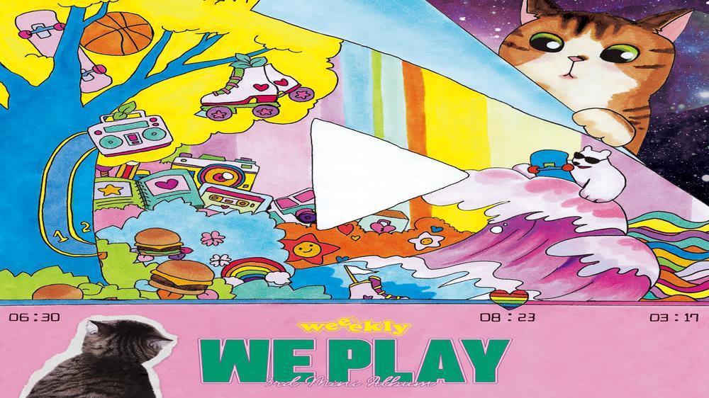 Weeekly : 3rd Mini Album [We play] Concept film
