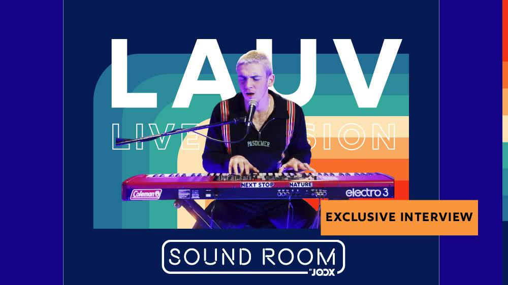 LAUV Exclusive Interview