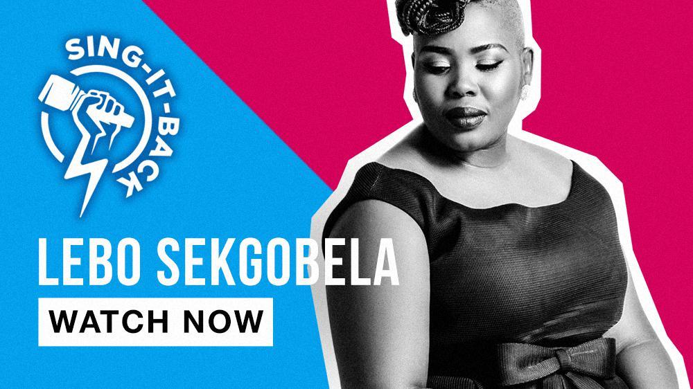 Lebo Sekgobela - Sing-it-back