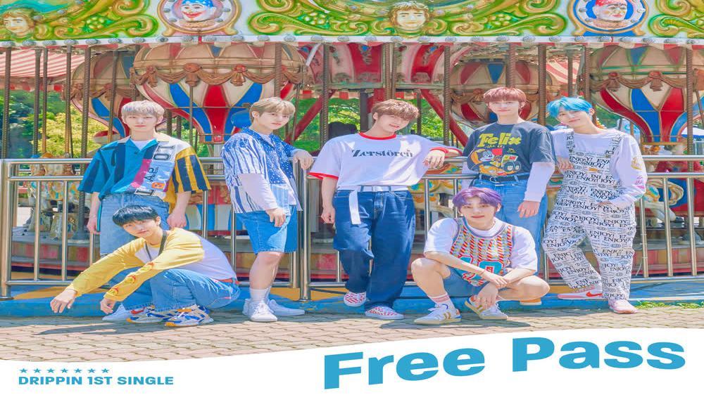 DRIPPIN 1st Single Album [Free Pass] Concept Trailer