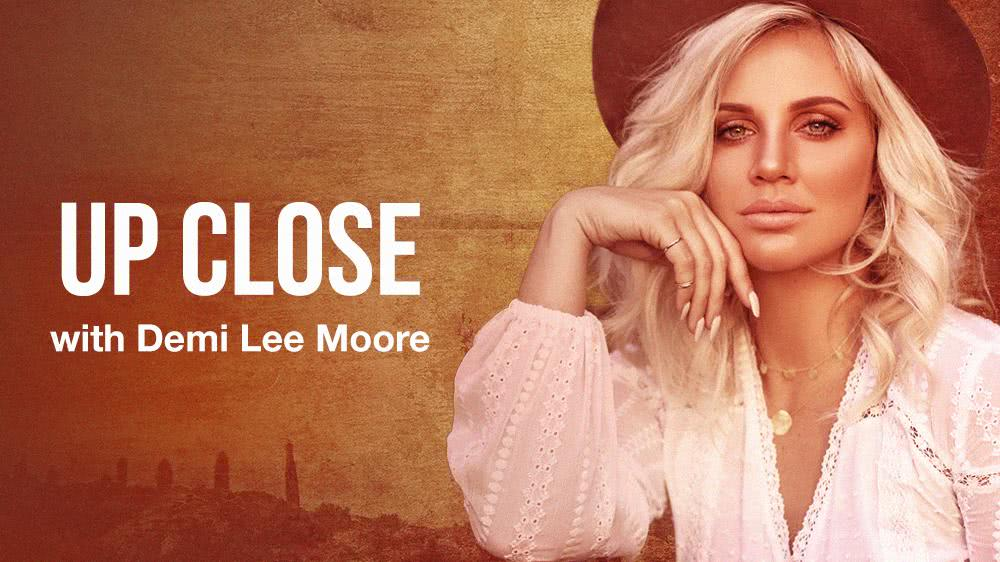 Up-Close with Demi Lee Moore