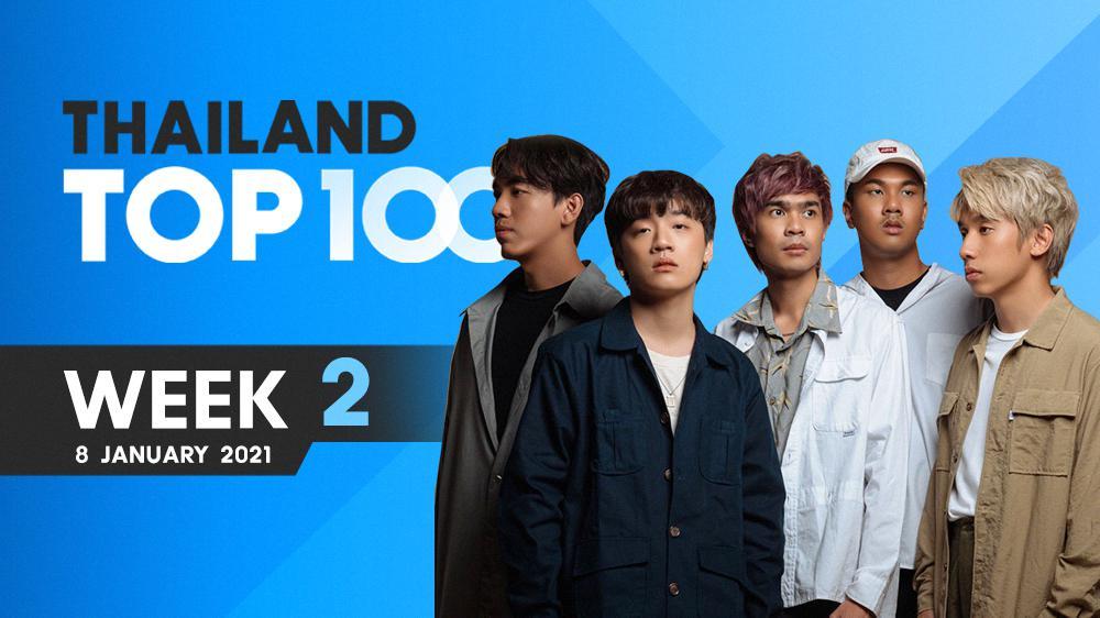 เพลงฮิตติดชาร์ต Thailand Top 100 By JOOX | ประจำวันที่ 8 มกราคม 2021